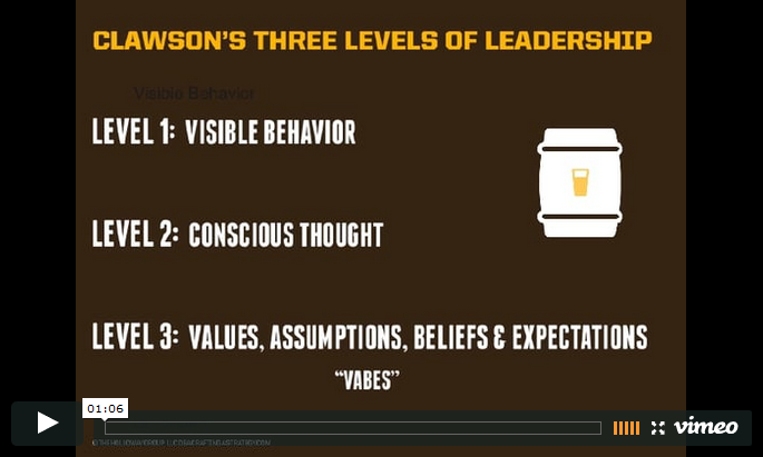 3 Levels of Leadership Video