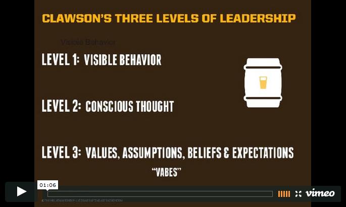3 Levels of Leadership Video