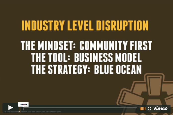 industry level disruption Video